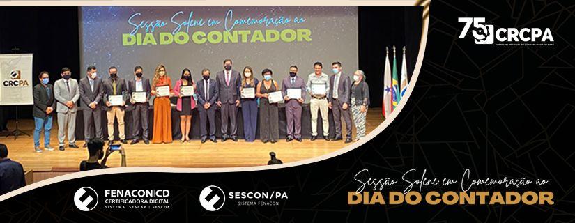 DIA DO CONTADOR: CRCPA REALIZA SOLENIDADE COM ENTREGA DE HONRARIAS, PALESTRAS E CERIMÔNIA DE POSSE DOS NOVOS DELEGADOS